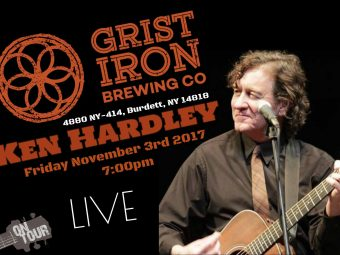 Ken Hardley at Grist Iron Brewing Co.