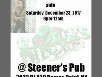 Ken Hardley at Steener's Pub